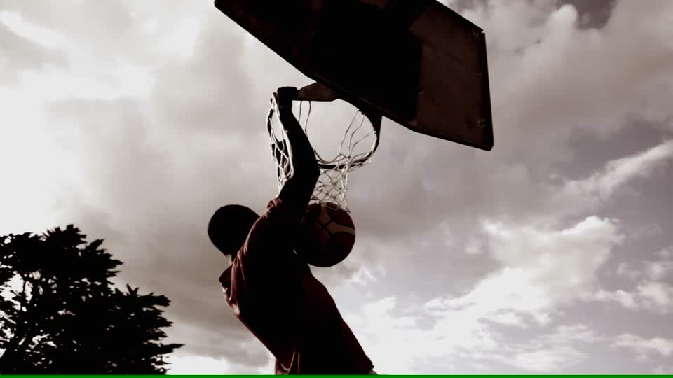 athlete's dunk