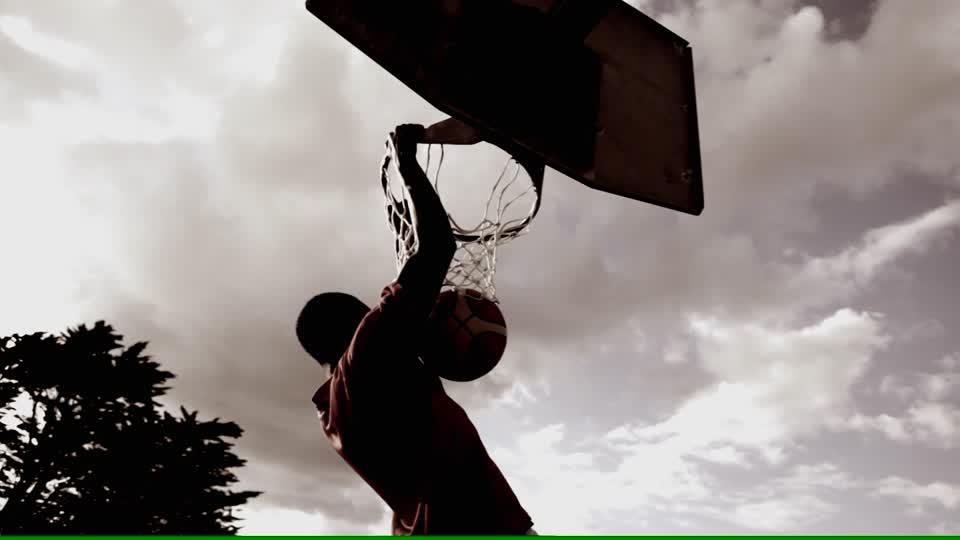 athlete's dunk