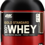 a tub of Gold Standard